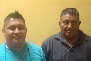 Abel Perez y Santos Hernández, fueron condenados por el Tribunal de Choluteca