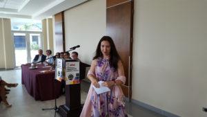 María Soledad Pazo, representante Residente de la Oficina para el Alto Comisionado de Naciones Unidas para los Derechos Humanos