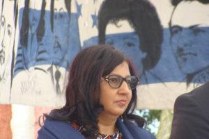 Reyna Rivera, directora de Diakonia Honduras