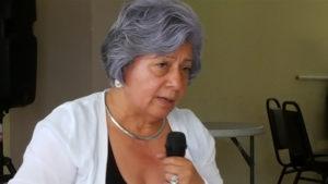 Berta Oliva, Coordinadora General del Comité de Familiares de Detenidos Desaparecidos en Honduras (COFADEH)