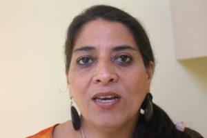 Bety Vásquez, Coordinadora del Movimiento Ambientalista Santabarbarense (MAS)