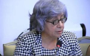 Berta Oliva, coordinadora general del Cofadeh