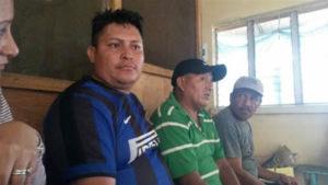 En la Granja Penal de Nacacome, Abel y Santos eran visitados por Pedro Canales, de ADEPZA, y procuradoras del COFADEH