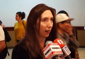 María Soledad Pazo, Representante Residente de la Oficina del Alto Comisionado de Naciones Unidas para los Derechos Humanos en Honduras (OACNUDH)