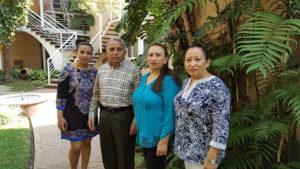 Marleny, José, Norma y Yamoleth Pacheco León