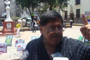 Rafael Alegría, Coordinador General de la Vía Campesina- Honduras