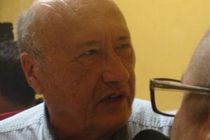 Carlos H. Reyes, del Comité Ejecutivo Mundial de la UITA, y presidente del Sindicato de Trabajadores de la Industria de la Bebida y Similares (STIBYS).
