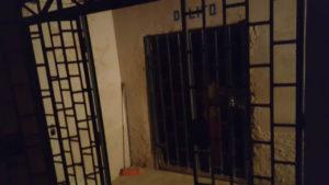 Desde esta celda un testigo protegido habría visto a dos policías halar el lazo con que se estrangulóa Mario Orlando Sequeira