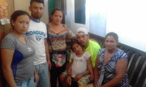 familia detenidos