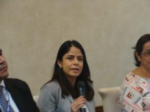Gabriela Pacheco, de la Unidad de Cumplimiento de Sentencia de de la Corte IDH