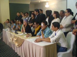 conferencia defensores ddhh