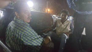 Defensores de ddhh fueron trasladados en la paila de las patrullas policiales