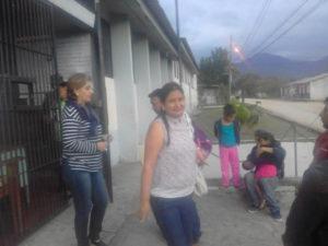 Las abogadas del Cofadeh Karol Cárdenas y Dora Oliva lograron la libertad de los campesinos lencas que estuvieron casi cuatro meses presos