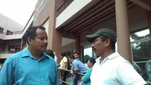 Santos Torres y Rodolfo Cruz, ambos son líderes campesinos y padres de menores que en diferentes momentos fueron víctimas de policías y militares